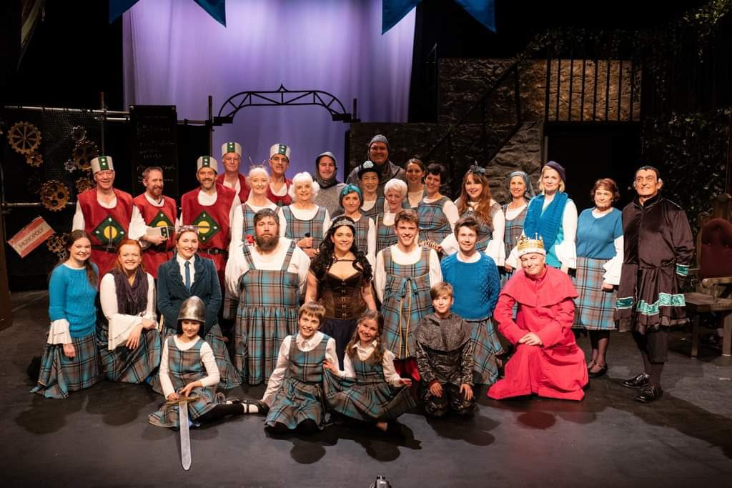 Princess Ida 2019 cast photo